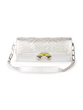 Клатч-сумка Missoni 174980 100% кожа Серебряный Италия изображение 0