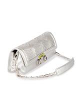 Клатч-сумка Missoni 174980 100% кожа Серебряный Италия изображение 1