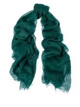 Палантин Colombo 0009VD 85% кашемир 15% шёлк Зеленый Италия изображение 0
