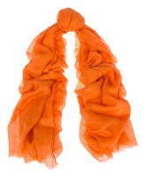 Палантин Colombo 0009VD 85% кашемир 15% шёлк Оранжевый Италия изображение 0