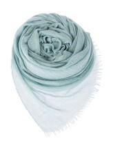Шаль Malo DTW054 70% кашемир, 30% шёлк Бирюзовый Италия изображение 1