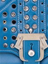 Сумка Paula Cademartori SYLVIE 100% кожа Голубой Италия изображение 4