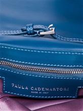 Сумка Paula Cademartori SYLVIE 100% кожа Голубой Италия изображение 5