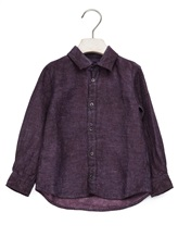 Рубашка 120% Lino 1899E818 100% лён Баклажан Болгария изображение 0
