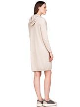 Платье Brunello Cucinelli 158A99 100% кашемир Светло-бежевый Италия изображение 3
