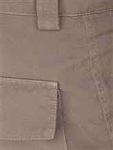 Брюки Brunello Cucinelli E1460 100% хлопок Серо-коричневый Италия изображение 4