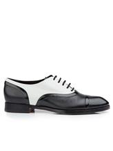 Туфли Santoni WURV55828 100% кожа Черно-белый Италия изображение 1