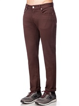 Джинсы PT05 C546LT 98% хлопок, 2% эластан Бордово-коричневый Румыния изображение 2