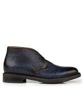 Ботинки Santoni MGWB10002 100% кожа Темно-синий Италия изображение 1