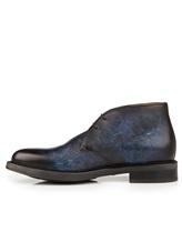 Ботинки Santoni MGWB10002 100% кожа Темно-синий Италия изображение 2