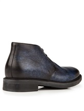 Ботинки Santoni MGWB10002 100% кожа Темно-синий Италия изображение 3