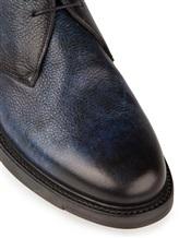 Ботинки Santoni MGWB10002 100% кожа Темно-синий Италия изображение 5