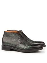 Ботинки Santoni MGWB10002 100% кожа Зеленый Италия изображение 0