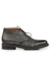 Ботинки Santoni MGWB10002 100% кожа Зеленый Италия изображение 1