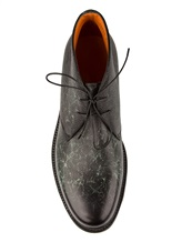 Ботинки Santoni MGWB10002 100% кожа Зеленый Италия изображение 4