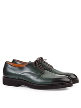 Ботинки Santoni MGC014272 100% кожа Зеленый Италия изображение 0