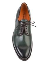 Ботинки Santoni MGC014272 100% кожа Зеленый Италия изображение 4