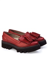 Ботинки Brunello Cucinelli 066 100% кожа Красный Италия изображение 0