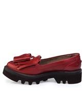 Ботинки Brunello Cucinelli 066 100% кожа Красный Италия изображение 2