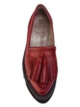 Ботинки Brunello Cucinelli 066 100% кожа Красный Италия изображение 4