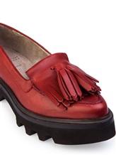 Ботинки Brunello Cucinelli 066 100% кожа Красный Италия изображение 5