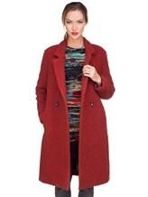 Пальто Massimo Alba S0FIA 68% альпака, 24% шерсть, 8% полиамид Терракотовый Италия изображение 0