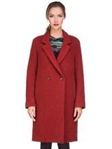 Пальто Massimo Alba S0FIA 68% альпака, 24% шерсть, 8% полиамид Терракотовый Италия изображение 1