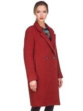 Пальто Massimo Alba S0FIA 68% альпака, 24% шерсть, 8% полиамид Терракотовый Италия изображение 2