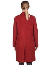 Пальто Massimo Alba S0FIA 68% альпака, 24% шерсть, 8% полиамид Терракотовый Италия изображение 3