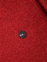 Пальто Massimo Alba S0FIA 68% альпака, 24% шерсть, 8% полиамид Терракотовый Италия изображение 4
