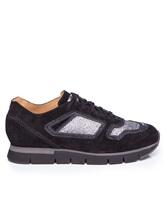 Кроссовки Santoni WBHY60092 100% кожа Черный Италия изображение 1