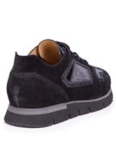 Кроссовки Santoni WBHY60092 100% кожа Черный Италия изображение 3