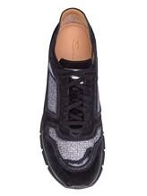 Кроссовки Santoni WBHY60092 100% кожа Черный Италия изображение 4