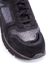 Кроссовки Santoni WBHY60092 100% кожа Черный Италия изображение 5