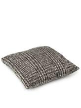 Подушка Brunello Cucinelli 526108 58% шерсть, 42% альпака Темно-серый Италия изображение 2