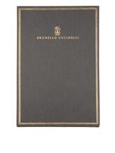 Записная книжка Brunello Cucinelli 0002 100% бумага Темно-серый Италия изображение 0