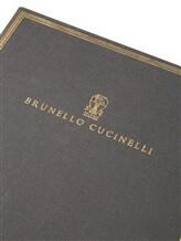 Записная книжка Brunello Cucinelli 0002 100% бумага Темно-серый Италия изображение 1