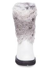 Сапоги Henry Beguelin SD2898 50% кожа, 50% мех(кролик) Светло-серый Италия изображение 4
