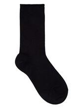 Носки Brunello Cucinelli 945019 90% кашемир, 10% полиэстер Черный Италия изображение 0