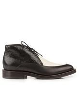 Ботинки Brunello Cucinelli 209 100% кожа Черно-белый Италия изображение 1
