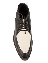 Ботинки Brunello Cucinelli 209 100% кожа Черно-белый Италия изображение 4