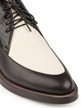 Ботинки Brunello Cucinelli 209 100% кожа Черно-белый Италия изображение 5