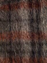 Палантин Brunello Cucinelli 015 50% шерсть, 50% альпака Серо-бордовый Италия изображение 1
