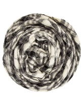 Палантин Brunello Cucinelli 015 50% шерсть, 50% альпака Черно-белый Италия изображение 0