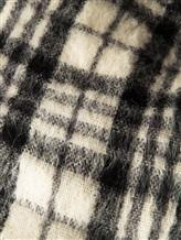Палантин Brunello Cucinelli 015 50% шерсть, 50% альпака Черно-белый Италия изображение 1