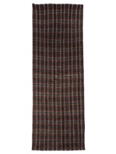 Палантин Brunello Cucinelli 015 50% шерсть, 50% альпака Серо-бордовый Италия изображение 2