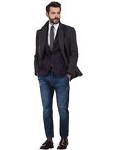 Пиджак Brunello Cucinelli 7BTD 95% шерсть, 5% кашемир Фиолетовый Италия изображение 1
