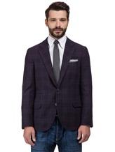 Пиджак Brunello Cucinelli 7BTD 95% шерсть, 5% кашемир Фиолетовый Италия изображение 0