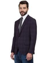 Пиджак Brunello Cucinelli 7BTD 95% шерсть, 5% кашемир Фиолетовый Италия изображение 2