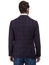 Пиджак Brunello Cucinelli 7BTD 95% шерсть, 5% кашемир Фиолетовый Италия изображение 3
